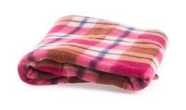 Deken, deken op de achtergrond Stock Afbeelding