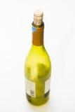 Dekiel butelki wino Zdjęcia Stock