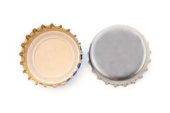Dekking van bier stock foto