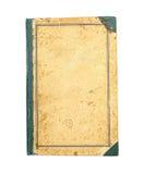 Dekking van oud boek stock afbeelding