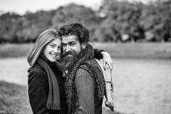 deklaraci wizerunku jpg miłości wektor jesień pary parka potomstwa Zdjęcie Royalty Free