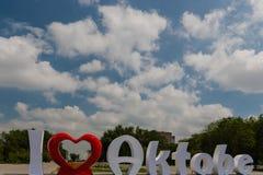 Deklaracja miłość Obrazy Stock