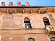 Dekor av palazzoen Negri De Salvi i Vicenza Royaltyfria Foton