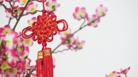 Dekor des neuen Jahres des traditionellen Chinesen stock footage