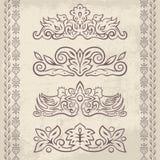 Dekor elements2 Royaltyfria Foton
