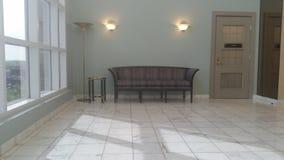 Dekor för väntande område för kontor inomhus Royaltyfria Foton