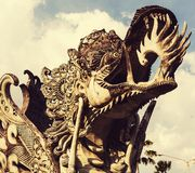 Dekor på Bali royaltyfri foto