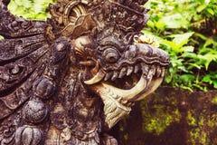 Dekor på Bali royaltyfria bilder