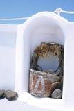 Dekor in Santorini Lizenzfreie Stockfotos