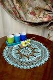 dekoraci domu stół Obraz Stock