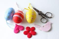dekoraci Easter narządzanie Obraz Stock