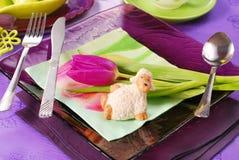 dekoraci Easter stół Obraz Stock