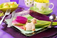 dekoraci Easter stół Fotografia Stock
