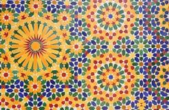 dekoraci Hassan ii meczet Fotografia Royalty Free