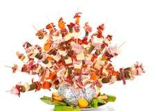 dekoraci jedzenie Zdjęcie Stock
