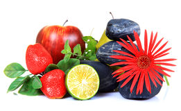 dekoraci kwiatu owoc Zdjęcie Stock