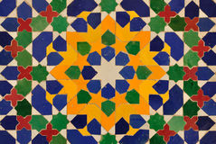 dekoraci mozaika Oriental Obrazy Stock