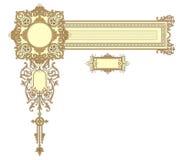 dekoraci rama Obrazy Stock