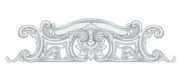 Dekoraci rama Obraz Stock