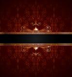 dekoraci tapeta złota bezszwowa Obraz Royalty Free