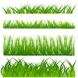 dekoraci trawy set Zdjęcia Royalty Free