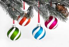 dekoraci wakacyjny drzewa xmas Fotografia Stock