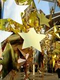 Dekoracj gwiazdy Zdjęcia Royalty Free