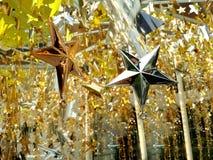 Dekoracj gwiazdy Zdjęcie Stock