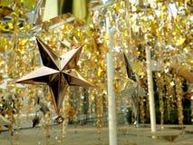 Dekoracj gwiazdy Zdjęcia Stock
