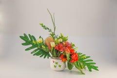 Dekoracja ślubów kwiaty Obrazy Royalty Free