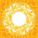 dekoracja abstrakcyjne elementów wektora kwiatek ilustracji Fotografia Royalty Free