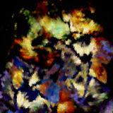 Dekoracja abstrakt dostrzega tło, pstrobarwnego ilustracja wektor
