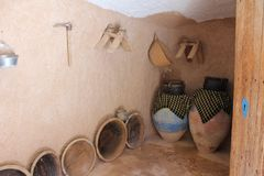 Dekoracja Berbers w pustyni obraz stock