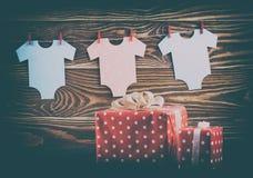 Dekoracja dla dziecko prysznic Obraz Royalty Free