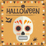 dekoracja Halloween Obrazy Royalty Free