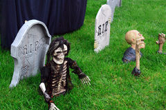 dekoracja Halloween Zdjęcia Royalty Free
