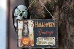 dekoracja Halloween Fotografia Stock