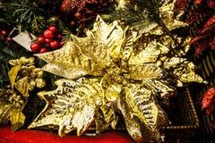 dekoracja i wnętrze Wesoło boże narodzenia i Szczęśliwy nowy rok Obrazy Royalty Free