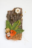 dekoracja jesienią Zdjęcia Stock