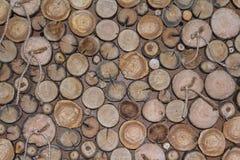 Dekoracja krakingowa drewniana kurenda zdjęcie royalty free