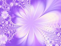 dekoracja kwiaty Obraz Royalty Free