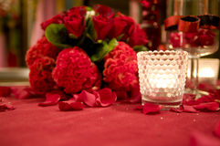 dekoracja ślub Obraz Stock