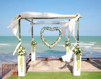 dekoracja ślub Obrazy Stock