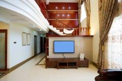 dekoracja luksus domowy wewnętrzny Zdjęcia Royalty Free