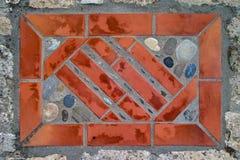 Dekoracja na kamiennej podłoga 2 Fotografia Stock