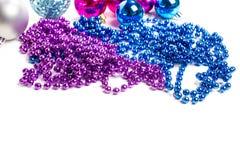 dekoracja nowego roku Zdjęcia Royalty Free