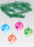 dekoracja nowego roku Ilustracja Wektor