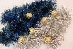 dekoracja nowego roku Obraz Royalty Free