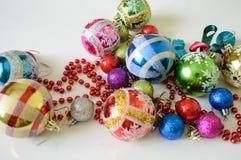 dekoracja nowego roku Fotografia Stock