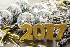 dekoracja nowego roku Fotografia Royalty Free